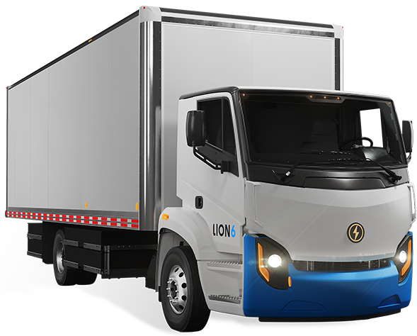 Lion6 - All-Electric, Zero-Emission Truck | Lion Electric
