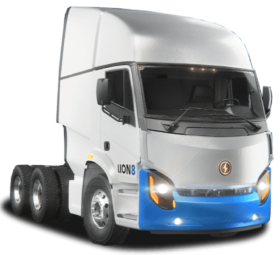 Lion8 Tractor - All-Electric, Zero-Emission Tractor truck | Lion Electric